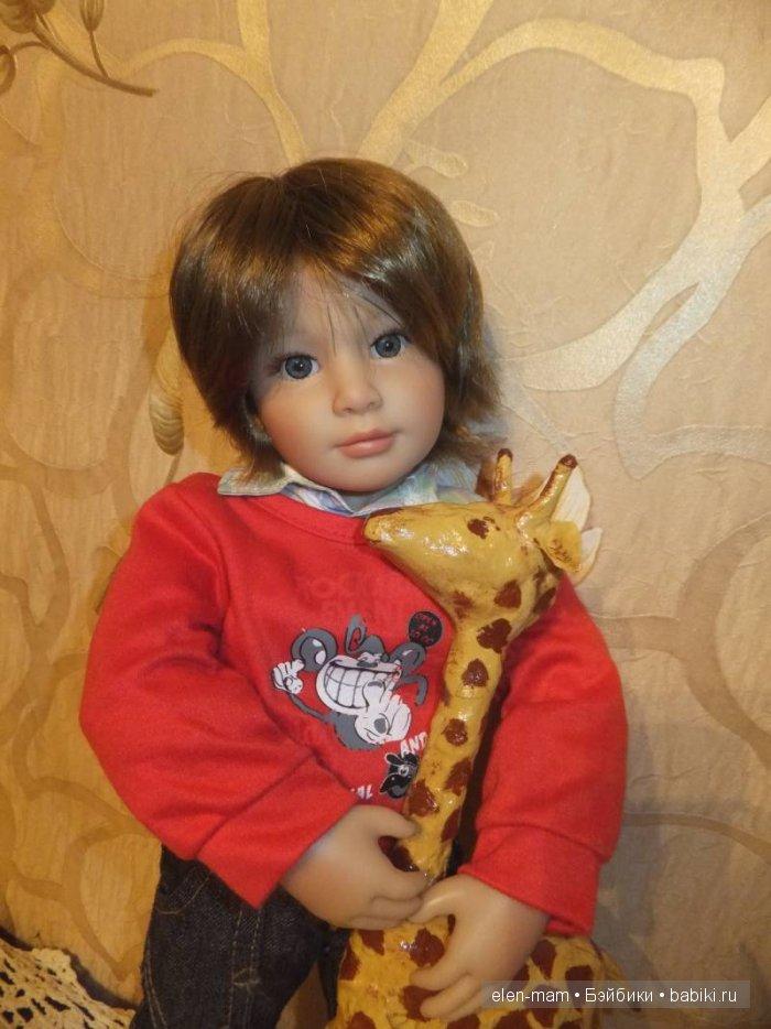 Майк с жирафиком 2