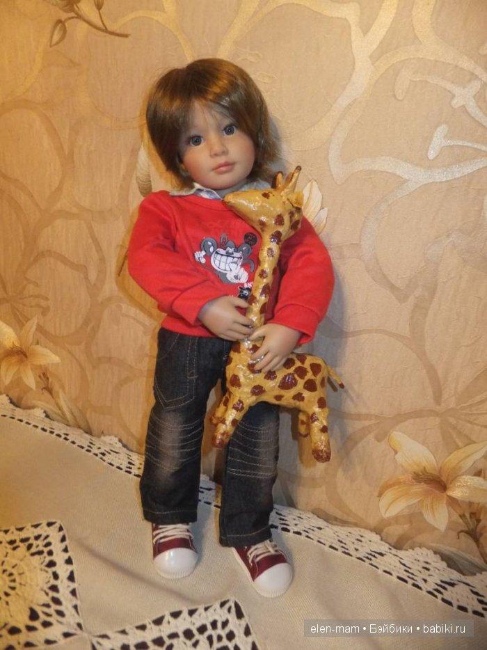 Майк с жирафиком