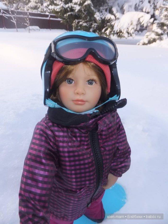 Майк на сноуборде 3, портрет