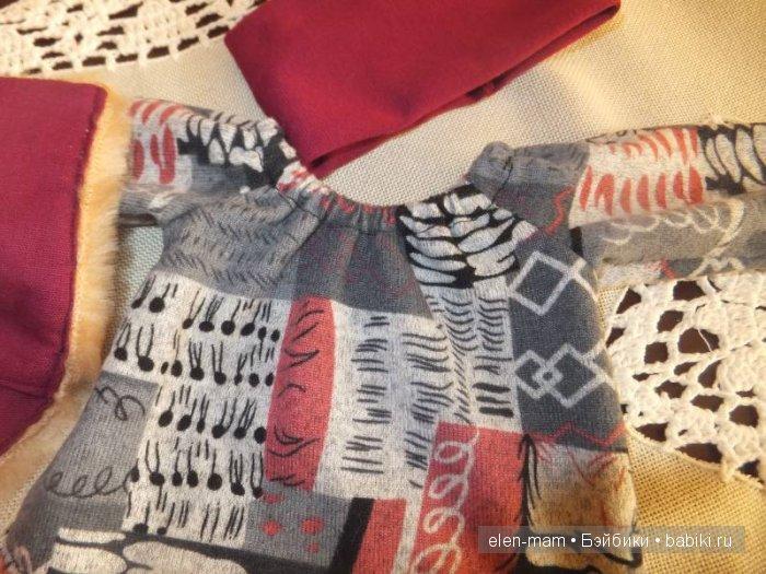 Вишнёвая блуза