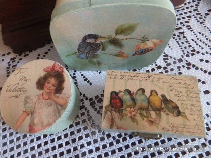 Девочка и птички