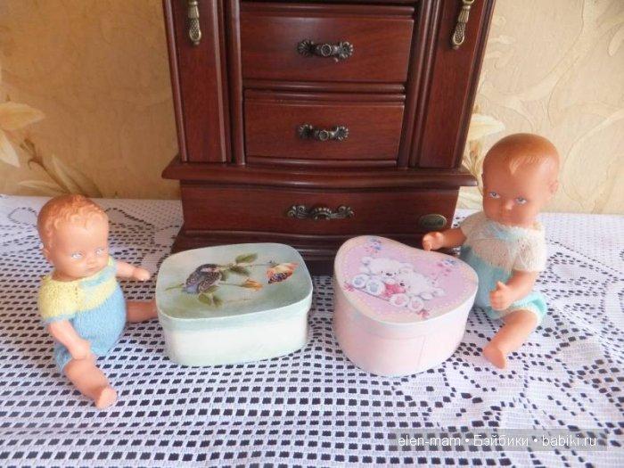 2 малыша, 2 шкатулки
