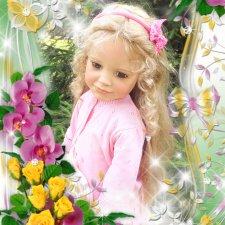 Любимая Софи:)  Кукла  автора Susan Lippl