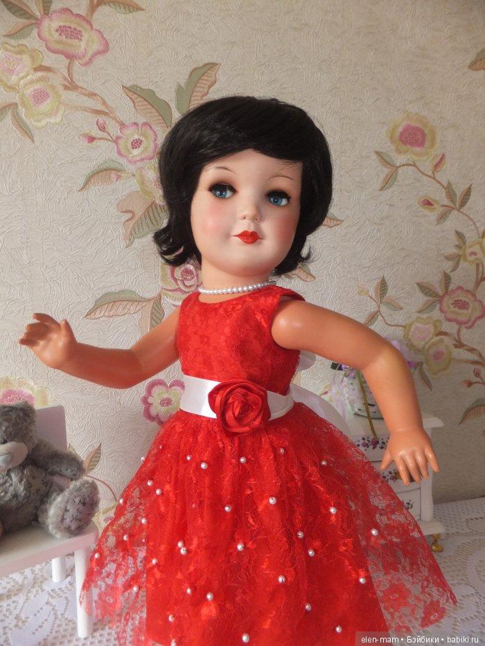 Флиртушка, красное платье 3