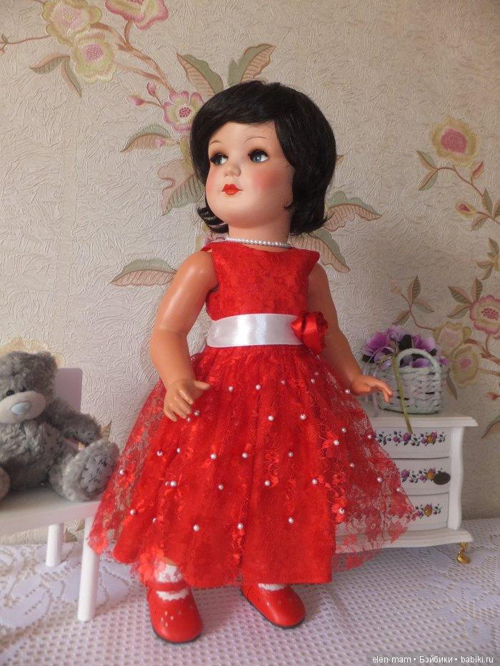 Флиртушка, красное платье 2