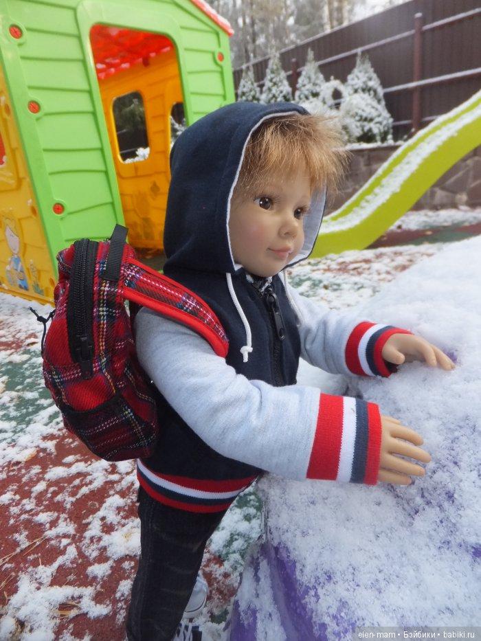 Фил и снег