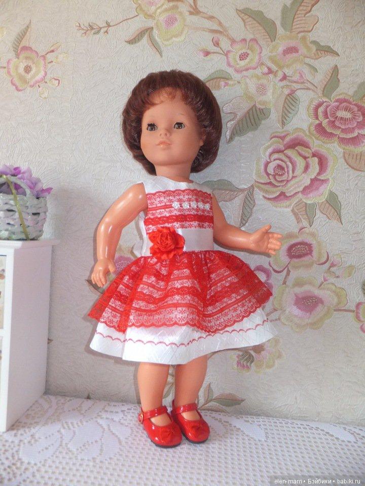 Женя в красном платье