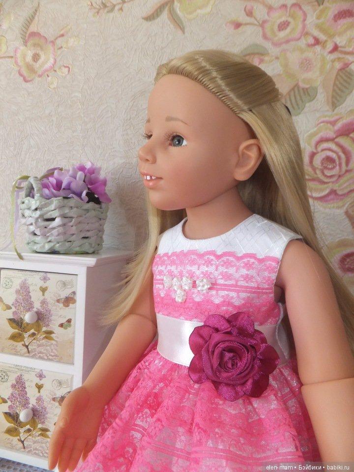 Галочка в розовом платье 3