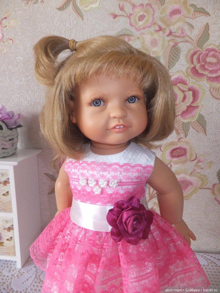 Лиля в розовом платье
