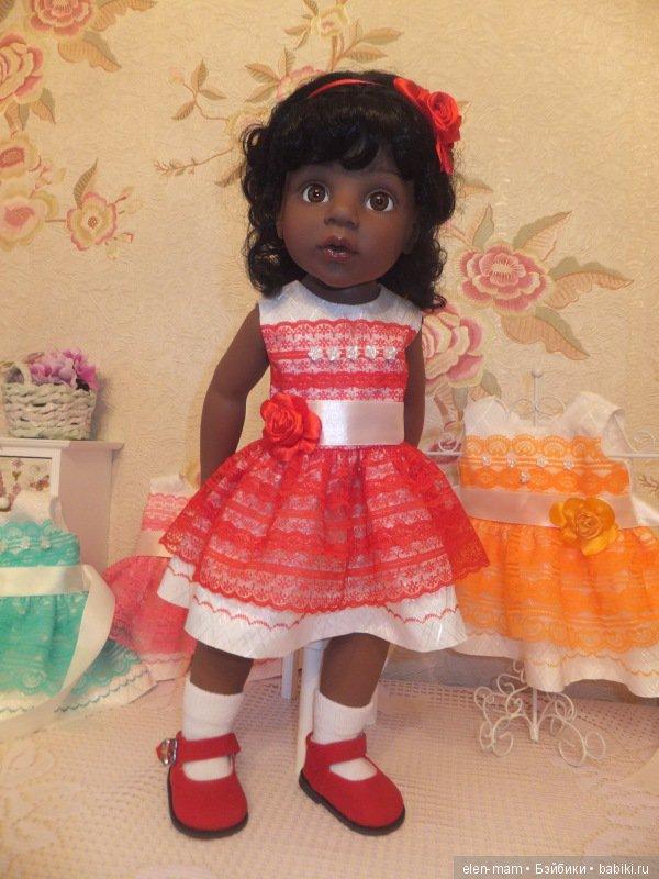 Алиша в красном платье