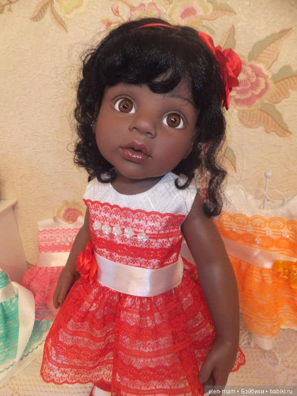 Алиша в красном платье 2