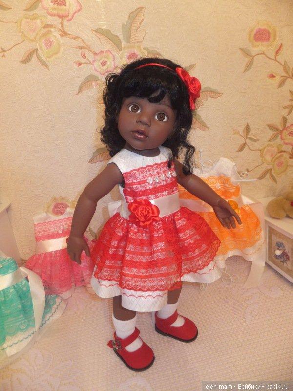 Алиша в красном платье 6