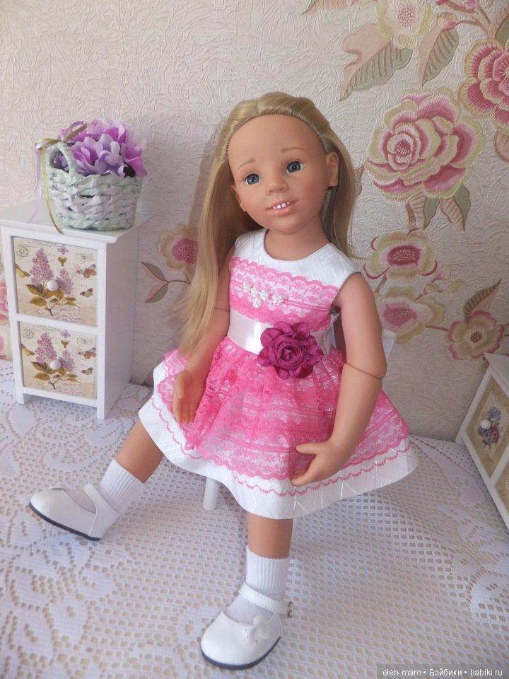 Галочка в розовом платье 2