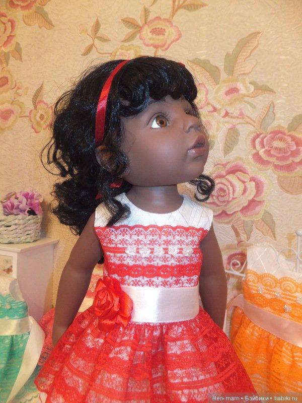 Алиша в красном платье 3