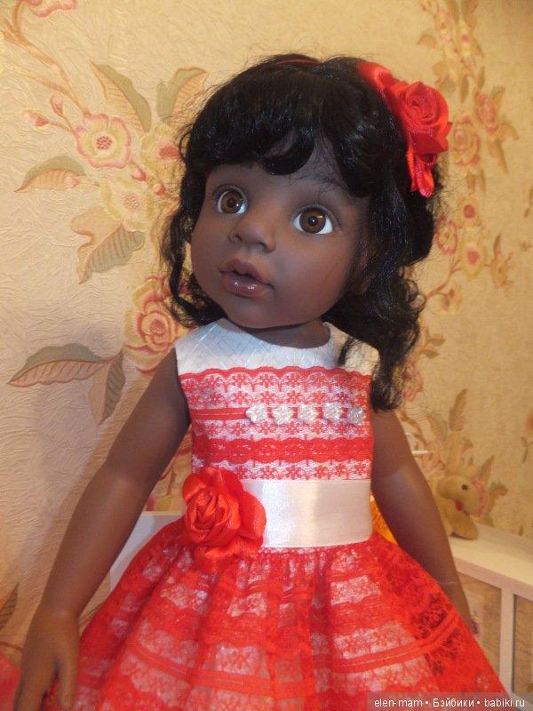 Алиша в красном платье 4