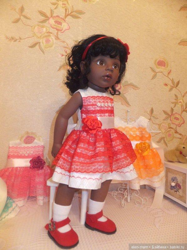 Алиша в красном платье 5