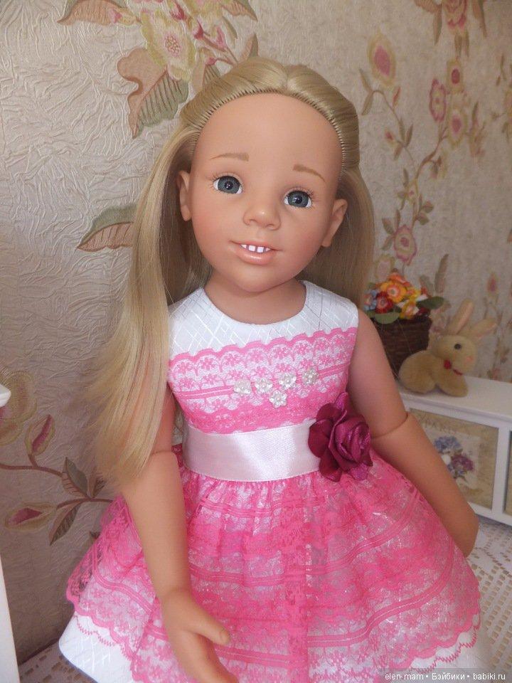 Галочка в розовом платье 4