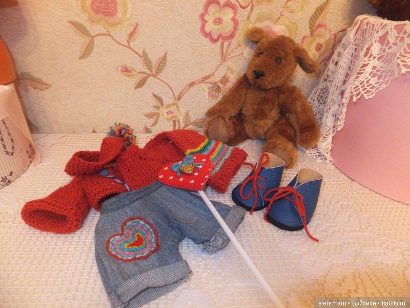 Пёсик и его одежда