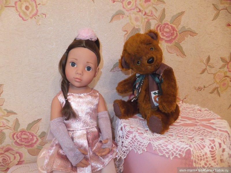 Кукла и мишка 2