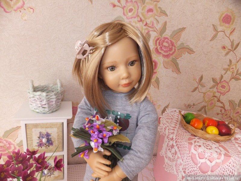 Жаннет с цветочками