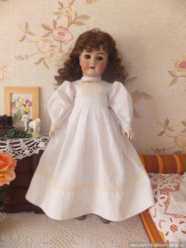 Вера в новом платье 2
