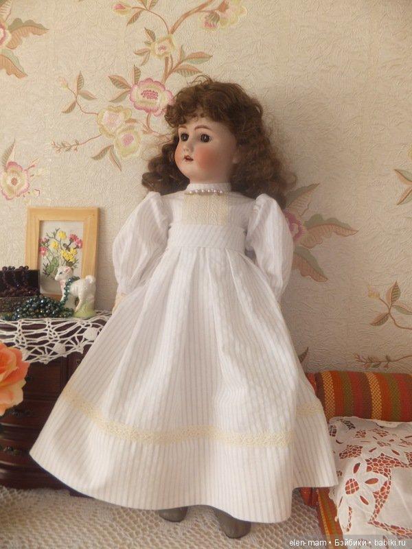 Вера в новом платье