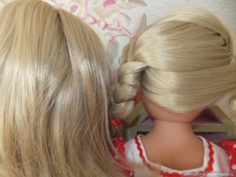 Оттенок волос у двух Принцесс