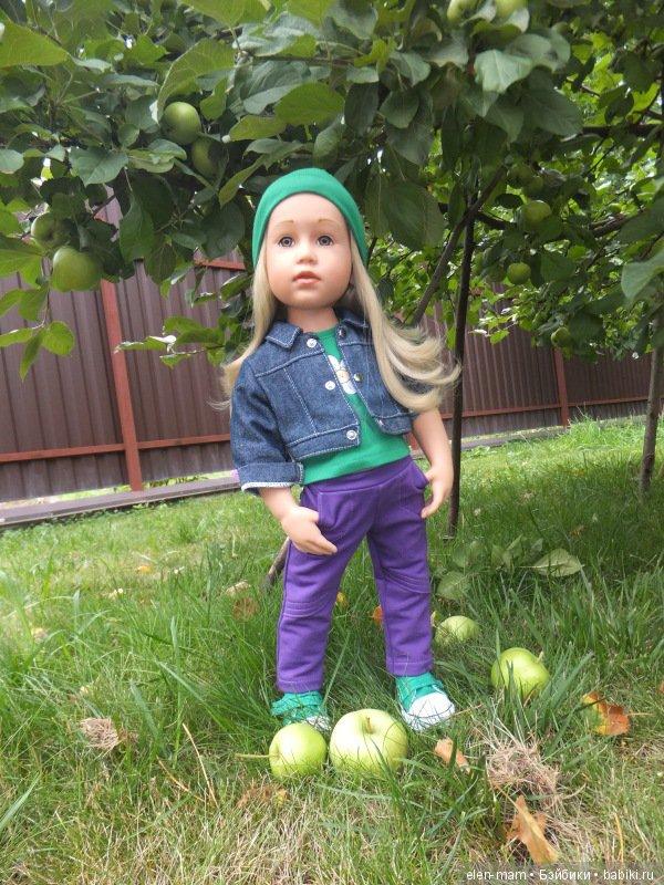 Анечка, яблоня