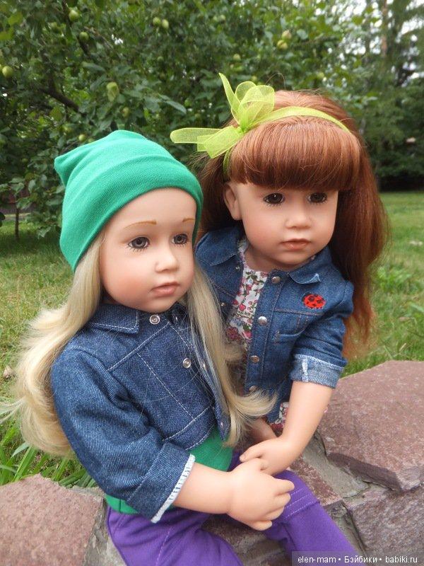 Анечка и Симоночка