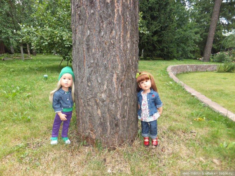 У большого дерева 4