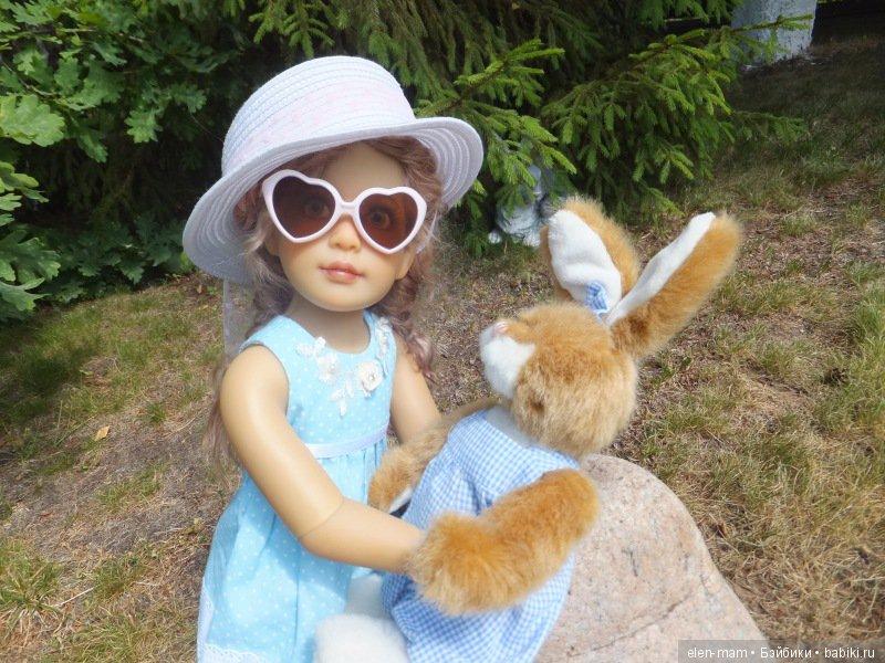 с зайцем