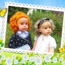 Абигайль и Клара. Куклы Sissel Skille, Götz
