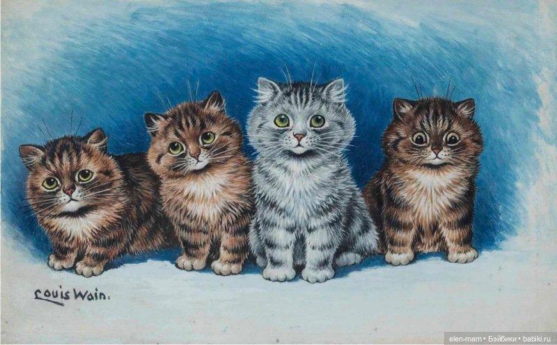 4 котика