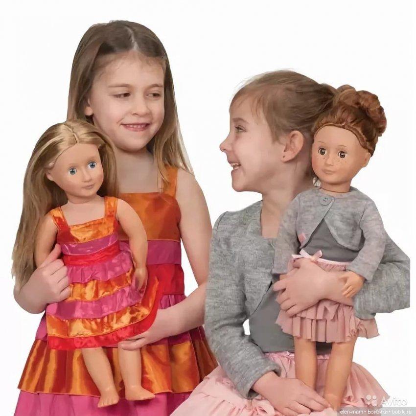 Девочки и куклы