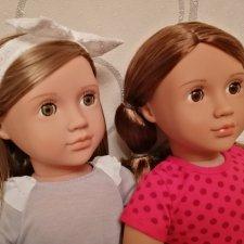 Бина и Мария. Our Generation Doll