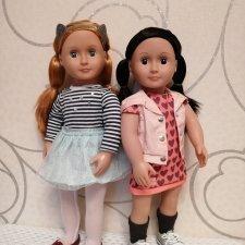 Арли и Лили - Our Generation Doll. И немного сравнительных заметок