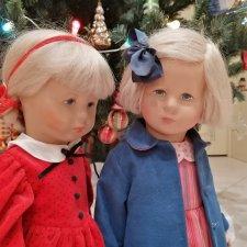 Винтажные куклы Kathe Kruse и компания