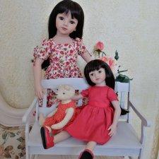 Мару большая и Мару маленькая. Dolls Maru&Friends