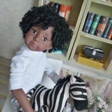 Куклы, они и в Африке куклы. Халли - темнокожее чудо!  Maru&Friends