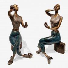 Бронзовые скульптуры от Элен Лабри (Hélène Labrie)