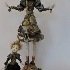 Фарфоровые куклы Akie Daanen