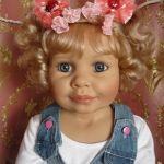 Моя девочка Сонечка, кукла от Моники Гердес