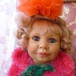 Кукла Амели от Monika Gerdes