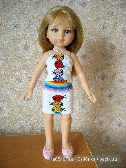 Мастер-класс. Малобюджетные летние нарядики для кукол ростом 26-32 см