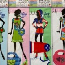 Наборы для пошива одежды на кукол Барби