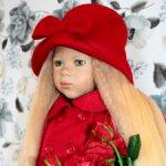 Комплект верхней одежды на куклу Himstedt