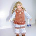 Авторская кукла Жули
