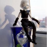 Жаклин, шарнирная авторская миниатюра