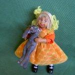Лиза, авторская кукла