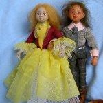 Марк и Жени, авторские куклы
